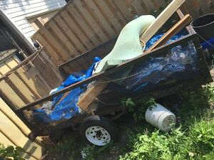 Utility trailer 5x8 (for parts or repair)