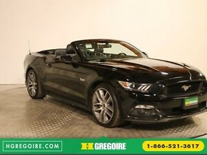 2016 Ford Mustang GT PREMIUM CONVERTIBLE AUTO A/C CUIR  NAVIGATI