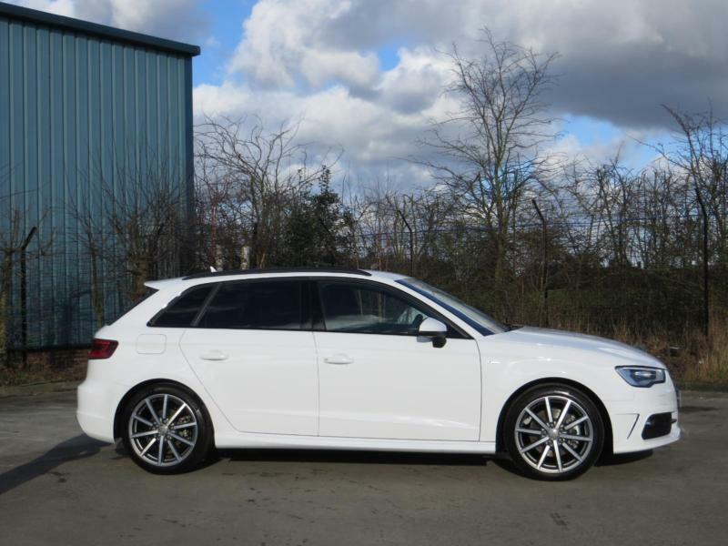 2016 audi a3 2 0 tdi quattro s line 5dr s tronic nav automatic hatchback in york north. Black Bedroom Furniture Sets. Home Design Ideas