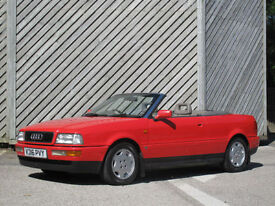 1992 AUDI 80 2.3 CABRIOLET ONLY 93000 MILES FULL HISTORY !!