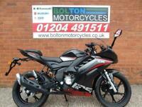 KEEWAY RKR125 MOTORCYCLE LEARNER LEGAL