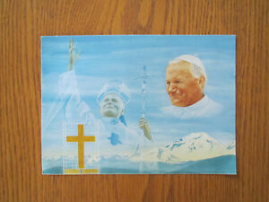 CARTE POSTALE  PAPE JEAN-PAUL II West Island Greater Montréal image 1