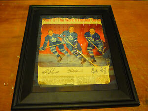 Toronto Maples Leafs Framed Picture