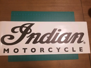 Vinyl Decals - Indian Motorcycle or Harley Davidson