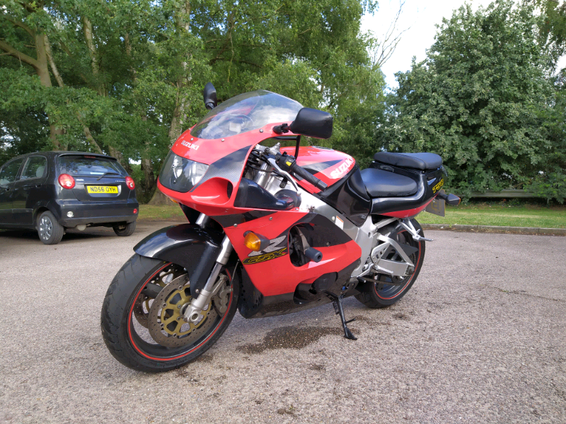 Suzuki GSXR 750 SRAD W reg 2000 motorcycle | in Martlesham Heath, Suffolk |  Gumtree