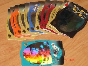 Cartes de hockey SPX 96-97 (avec hologram)