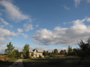 Farm with century house and barn for sale