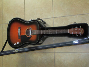 Fender  Acoustic/electric guitar and  hard case