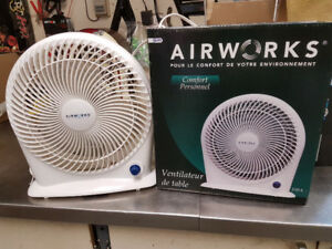 "Fan Airworks 10'"" 3 speed  Table Top"
