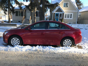 2011 Chevrolet Cruze, Remote Start, Great Condition $6500 O.B.O.