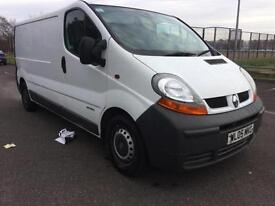 2005 Renault Trafic 1.9TD LL29dCi 100 COMPLETE WITH M.O.T WARRANTY INCLUDED