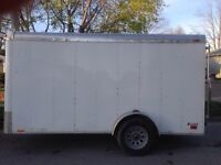 2010 6x12 enclosed with ramp door