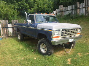 Complete 1979 Ford F-150 Pickup - Peace River