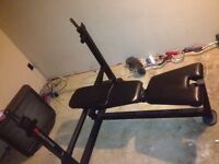 Mileage fitness bench press