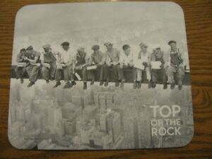 MOUSE PAD  -  TOP  OF  THE  ROCK