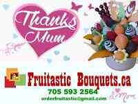 Mother's Day Fruit Bouquet only at Fruitastic Bouquets