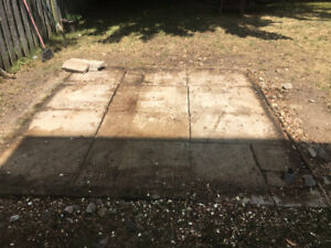 Free Cement Steps