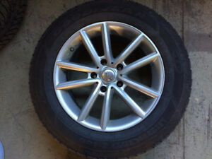 Winter Tires and Rims From 2012 Journey RT AWD  225/65 R17
