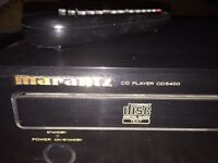 Marantz CD player with remote
