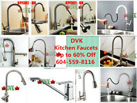Summer sale at DVK up to 60% off  Kitchen Faucets