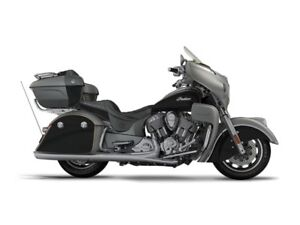 2017 Indian Motorcycle Roadmaster Steel Gray Over Thunder Black
