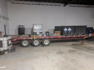 Barely used tri axle Load Trail - great condition