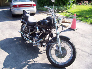 Harley Davidson Low Rider Shovel Head Spare Engine Front End