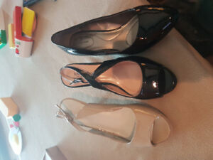 Women's shoes (Town Shoes, Bandolino and Ninewest) VGUC Size 8/9