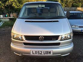 2001 T4 Caravelle 2.5 TDI Automatic Gearbox Air Conditioning Front & Rear