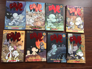 Bones Series by Jeff Smith - 1 Thru 8 Softcover Great Condition