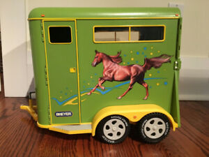 Breyer Toy Truck and Horse Trailer