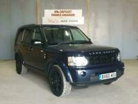 2010 Land Rover Discovery 4 3.0 SD V6 XS 4X4 5dr Auto SUV Diesel Automatic