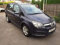 2007 VAUXHALL ZAFIRA 1.6 2 OWNERS EXCELLENT 7 SEATER