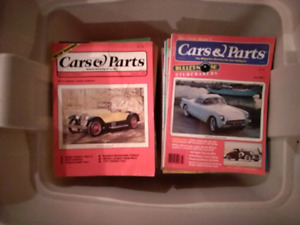 48 Older Cars & Parts Magazines