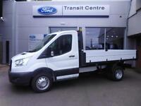 Ford Transit 2.2TDCi 125PSRWD 1-Way Tipper 350 L2H1 in White + SYNC - Onsite