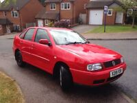 VW Polo 1.9 sdi 4 door saloon 2001
