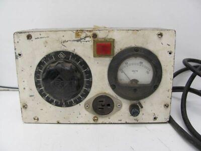 Generic Industrial Volt Meter W Weston Model 304 Volt Gauge Used
