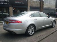 2011 Jaguar XF 2.2TD Auto Luxury 4DR 61 REG Diesel Silver