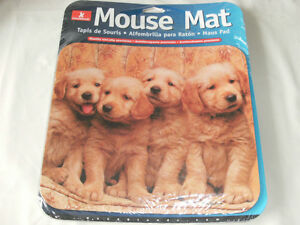"""Computer Mouse Pad """"PUPPIES"""" - Brand New and Factory Sealed!"""