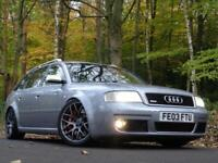 2003 03 Audi RS6 Avant 4.2 auto Quattro VERY NICE EXAMPLE !! COLLECTABLE !!