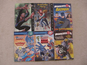 Super Heros Early Readers Books