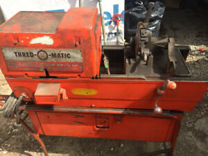 THRED O MATIC MODEL 22A PIPE THREADER