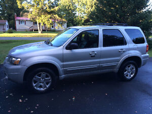 2007 Ford Escape Limited 4x4 AWD