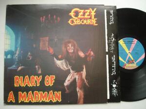 Ozzy Osbourne  Diary of a Madman & Van Halen LP