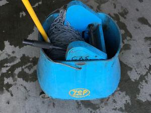 Industrial Mop Bucket.