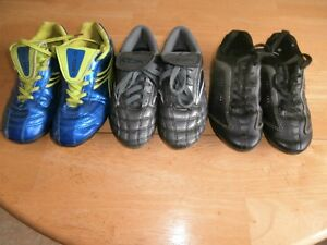 Soccer shoes size 13 and 2