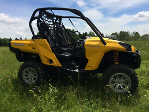 2014 CAN AM 800 COMMANDER DPS....FINANCING AVAILABLE