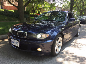 2004 BMW 3-Series 325Ci ZHP SULEV Coupe CERTIFIED + CARPROOF