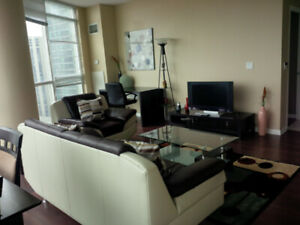 May: Furnished Downtown 2 Bed 2 Bath next to Union Station