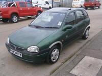 1997 P VAUXHALL CORSA 1.4i HI-TORQ BREEZE LIMITED EDITION CHEAP CAR LOW MILEAGE